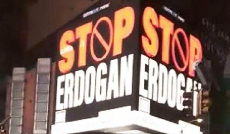 ABD'deki skandal Erdoğan ilanları için harekete geçildi