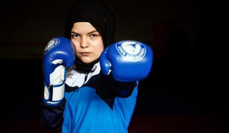 Kick boks şampiyonu Büşra: Ringde çok büyük darbeler aldım, korona kadar ağır değildi