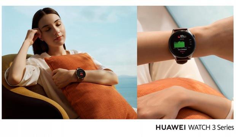 Huawei Watch 3 tanıtıldı! HarmonyOS kullanan ilk akıllı saat
