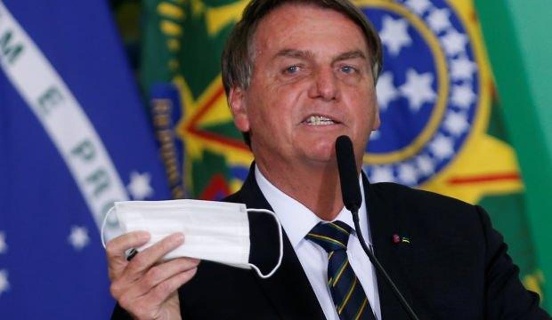 Brezilya Devlet Başkanı Bolsonaro'ya maske cezası