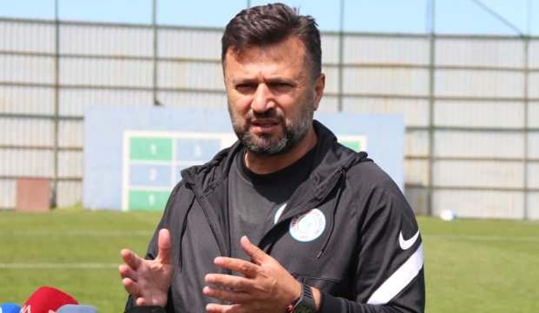Çaykur Rizespor'dan teknik direktör Bülent Uygun'a destek