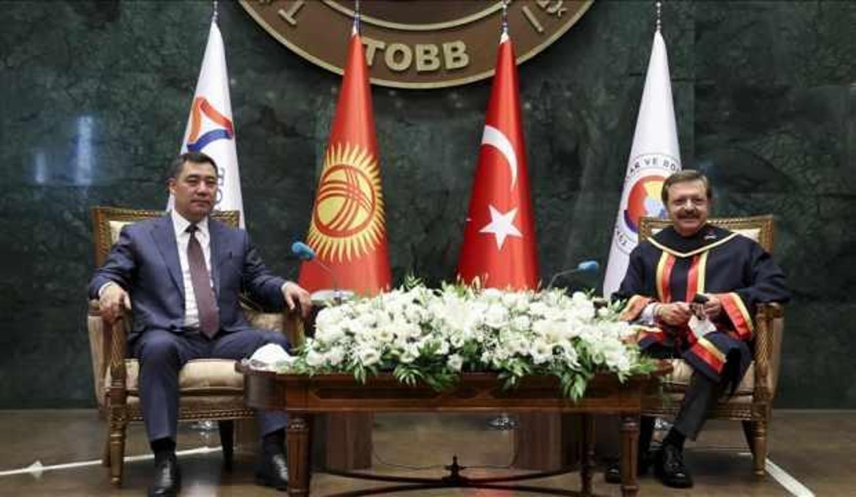 ''Türkiye, Kırgızistan'a en çok yatırım yapan ilk 4 ülke arasında yer alıyor''