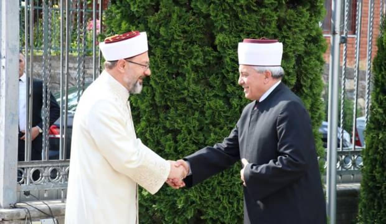 Diyanet İşleri Başkanı Erbaş, Kuzey Makedonya'yı ziyaret etti
