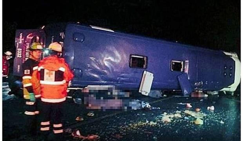 Meksika'da facia gibi kaza: 12 ölü, 13 yaralı
