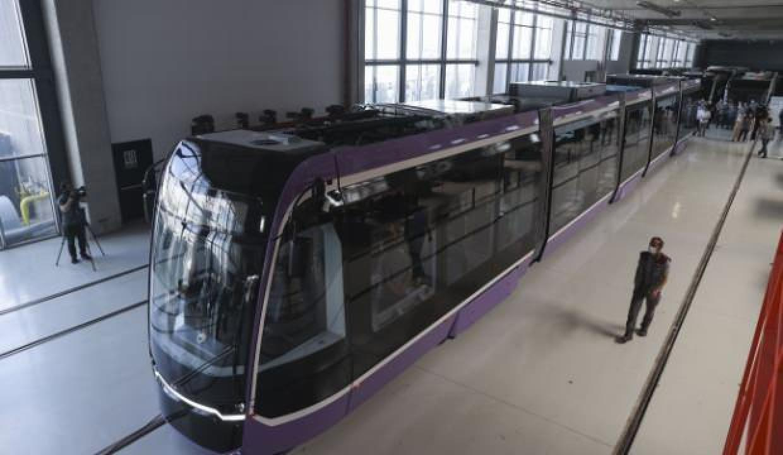 Türkiye'nin yerli tramvayı Romanya yolcusu