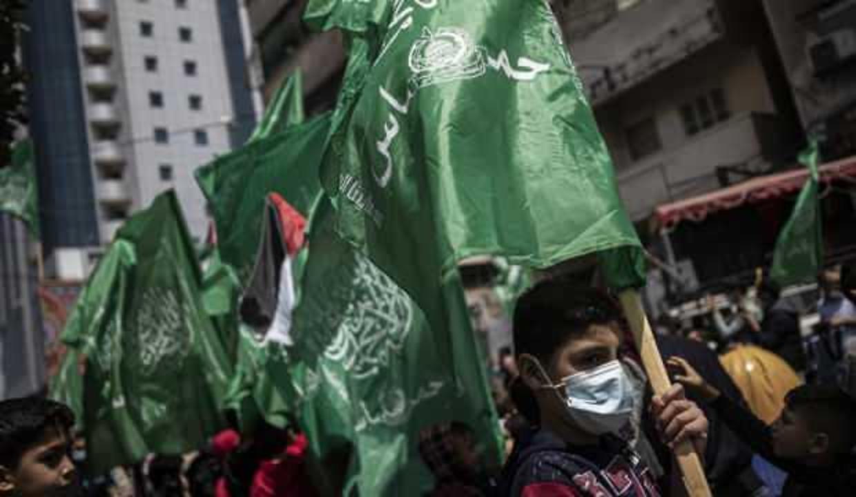 Almanya'da Hamas bayrağı ve sembollerinin kullanımı yasaklandı