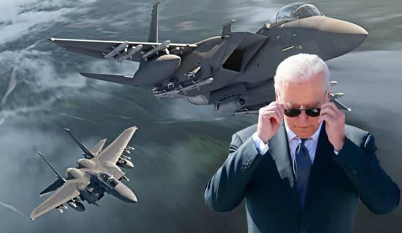 Biden: Hükümeti ele geçirmek için F-15'lere ihtiyacınız var