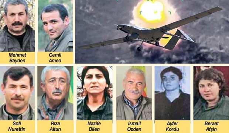 İşte son 6 yılda öldürülen ya da yakalanan üst düzey teröristler