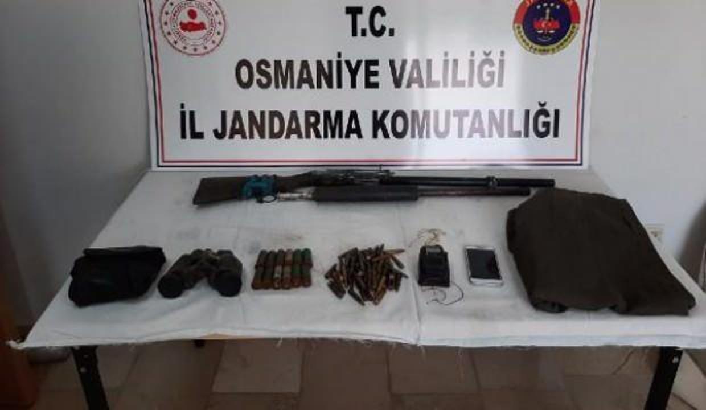 PKK sığınağında silah, mühimmat ve yaşam malzemesi ele geçirildi