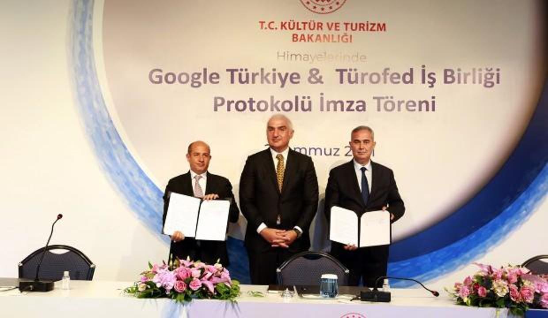 Google ve TÜROFED'den turizmde dijitalleşme atağı