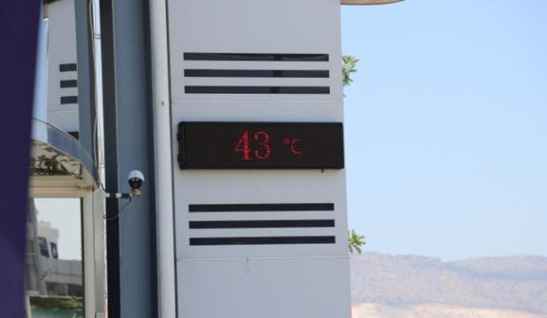 KKTC'de termometreler 43 dereceyi gösterdi