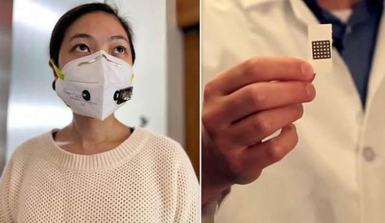 Koronavirüsü teşhis eden maske üretildi