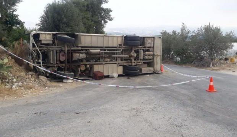 Mersin'in işçileri taşıyan araç kaza yaptı: Ölü ve çok sayıda yaralı