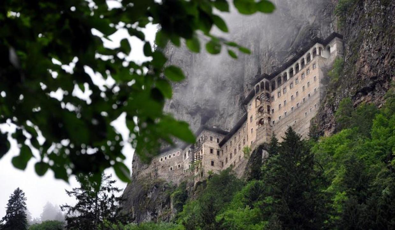 Sümela Manastırı'nın gizli mekanları ziyarete açıldı
