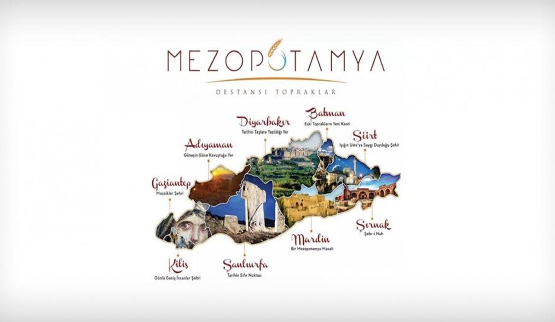 """Türkiye'nin ilk bölgesel turizm markası """"Mezopotamya"""" tanıtıldı"""
