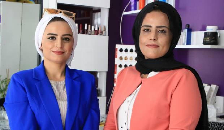 10 yıl önce 750 lira mikro kredi alan 2 kız kardeş kendi işinin patronu oldu!