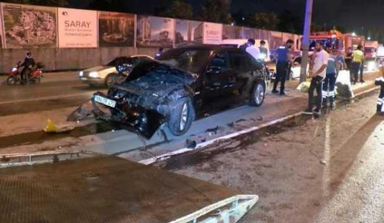 Beylikdüzü D-100 Karayolu'nda aynı yerde iki kaza: 5 yaralı