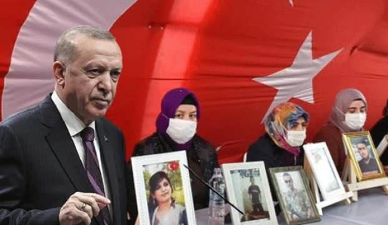 Diyarbakır'da evlat nöbeti tutan anneler heyecanla Başkan Erdoğan'ı bekliyor!