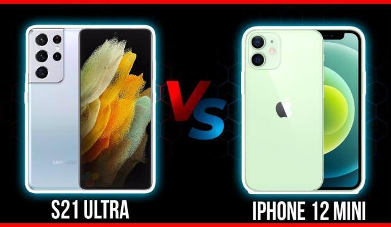iPhone 12 mini bataryasıyla Galaxy S21 Ultra 5G'yi geçti