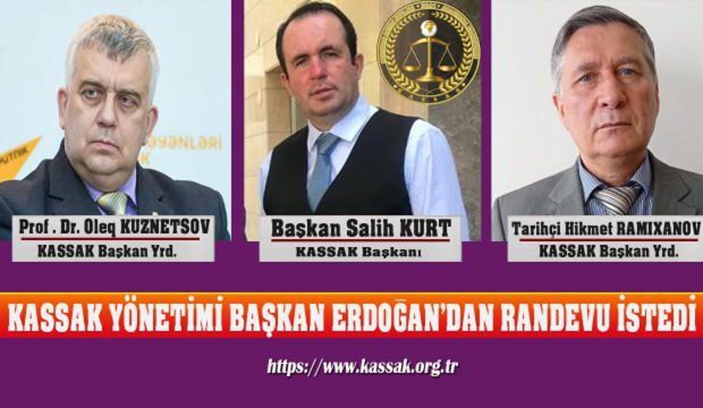 KASSAK yönetimi Cumhurbaşkanı Erdoğan'dan randevu istedi