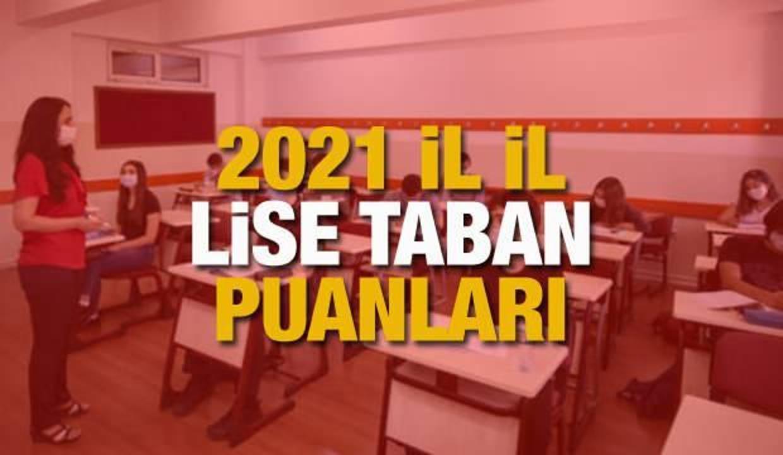 Lise taban puanları 2021!  MEB LGS tercihleri ne zaman sona erecek?