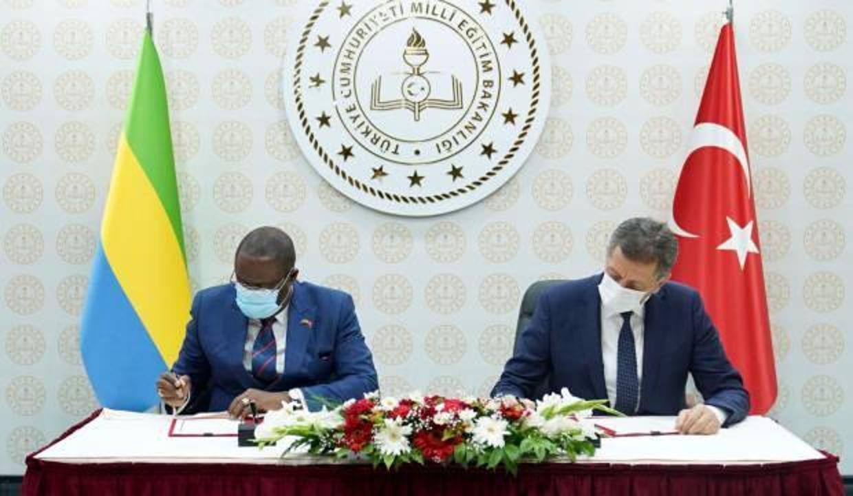 Milli Eğitim ile Gabon arasında işbirliği anlaşması