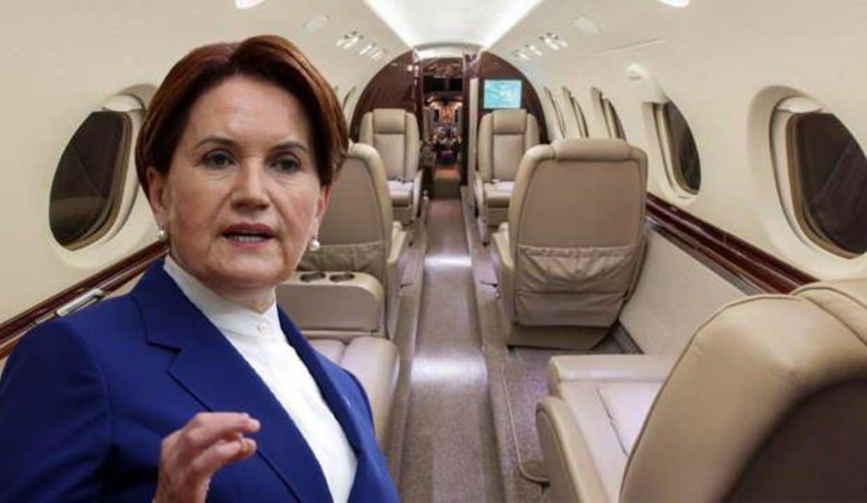 Özel uçakları satacağını söyleyen Akşener'in yolculuk sayısı şaşırttı