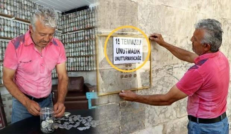 Gaziantepli koleksiyoner 31 yılda 200 ülkeye ait 4 ton para topladı