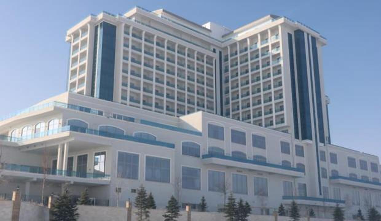 5 yıldızlı termal otel icradan satışa çıkartıldı
