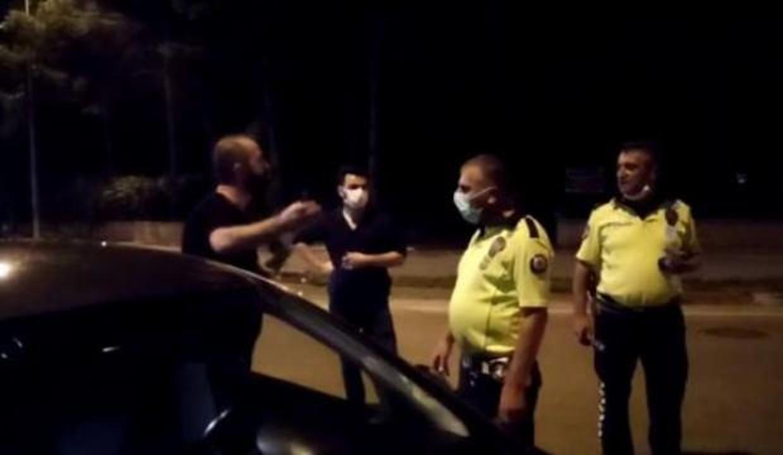 Alkollü yakalanan sürücüden polise ilginç tepki