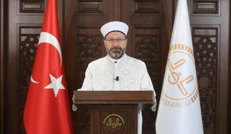 Diyanet İşleri Başkanı Erbaş'tan Hatay'da yaşanan olaya sert tepki