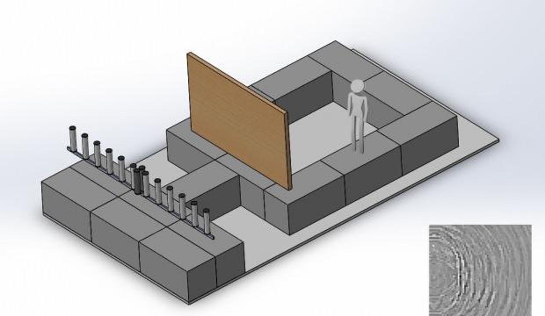 Duvarların arkasını gösteren teknoloji
