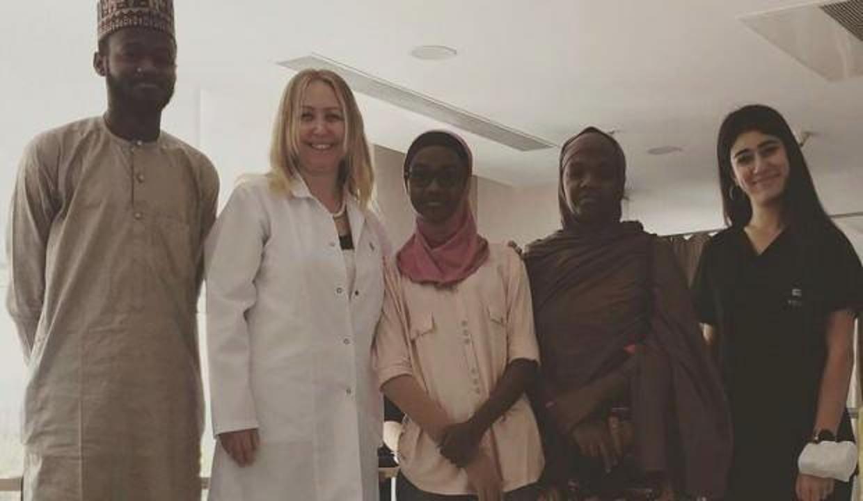 Fil hastalığına yakalanan Nijeryalı kadın sağlığına Türkiye'de kavuştu!