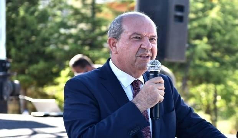 """KKTC Cumhurbaşkanı Tatar: """"Türk askerinin oradan çekilmesi bizim için ölüm fermanıdır"""""""