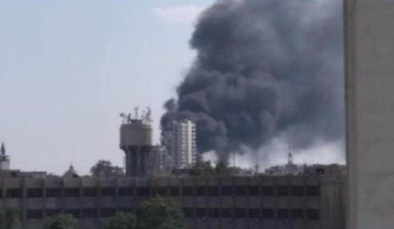 Şam'da büyük yangın