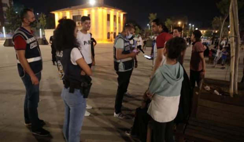 Şanlıurfa'da 483 polisle eş zamanlı uygulama