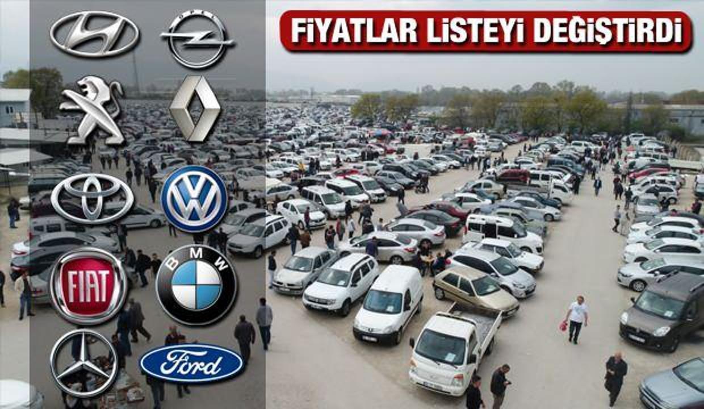 Türkiye'de en hızlı satılan 2. el araç modelleri: Peugeot Ford Hyundai Renault Fiat Opel liste değişti!