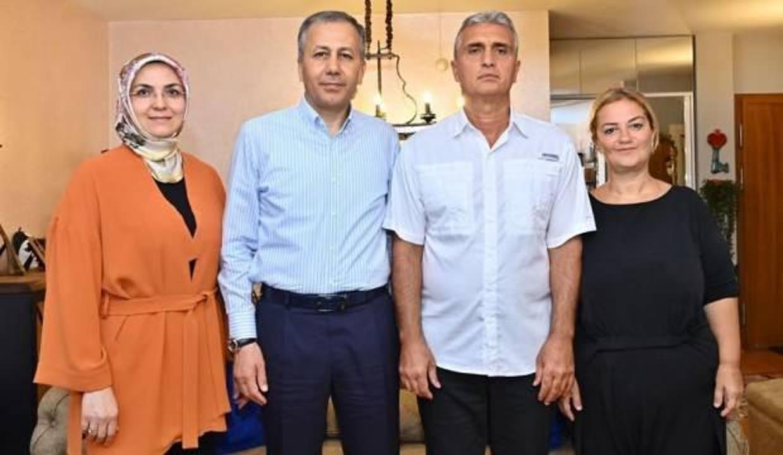Vali Yerlikaya, 15 Temmuz şehidi Batuhan Ergin'in ailesini ziyaret etti