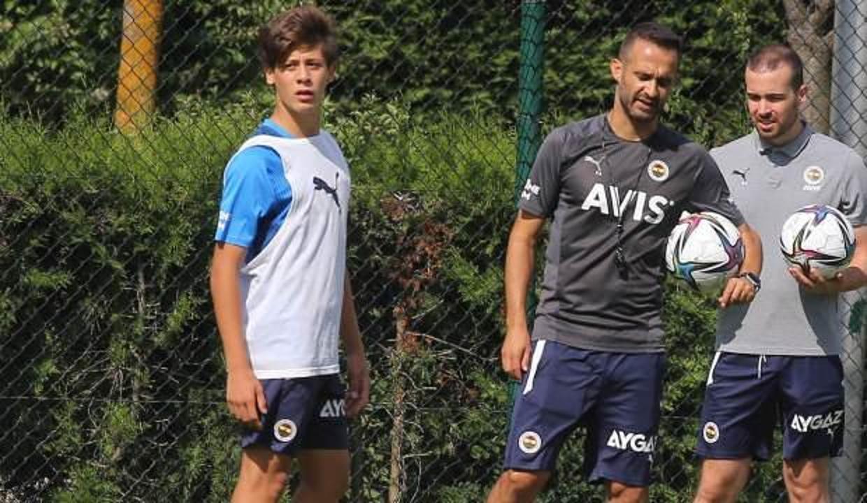 16'lık Arda Güler, Fenerbahçe A takımında!