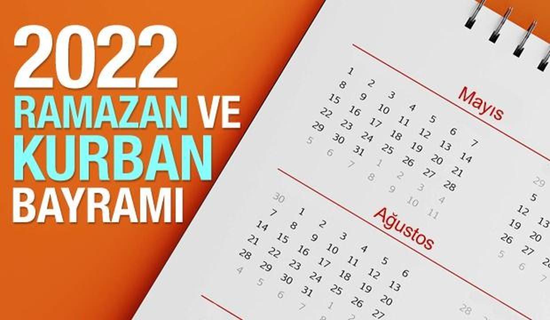 2022 Ramazan Bayramı ve Kurban Bayramı ne zaman?  Diyanet Dini Günler Takvimi!