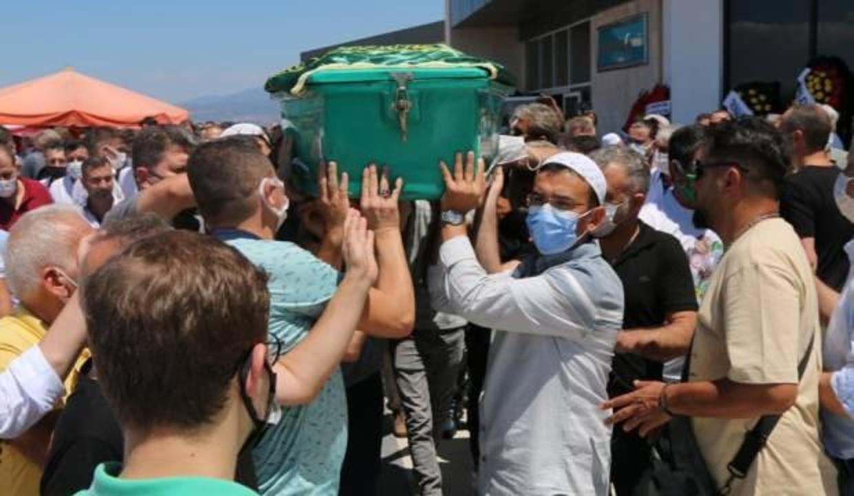 Akhisarspor Başkanı Hüseyin Eryüksel son yolculuğuna uğurlandı