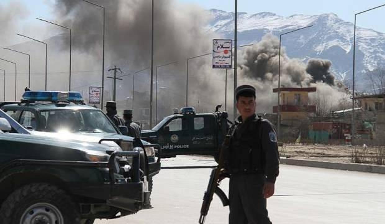 ABD giderayak Afganistan'da Taliban hedeflerini bombaladı