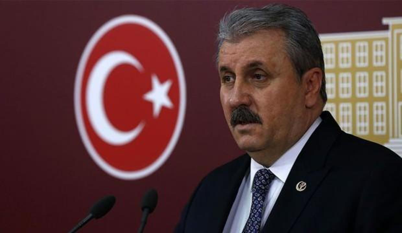 Başkan Erdoğan'ın Kıbrıs ziyaretine katılan Destici'den Millet İttifakı'na sitem