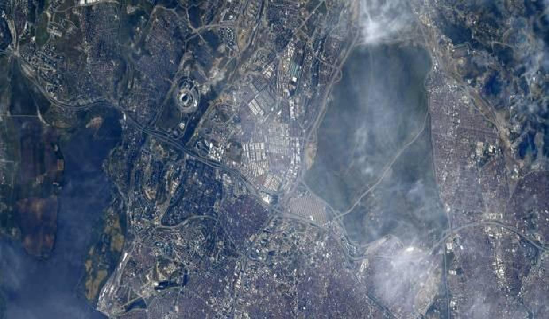 Dünyaca ünlü astronottan Türkiye paylaşımı