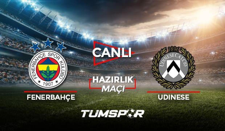 Fenerbahçe Udinese maçı canlı izle! Spor Smart FB Udinese maçı canlı skor takip!