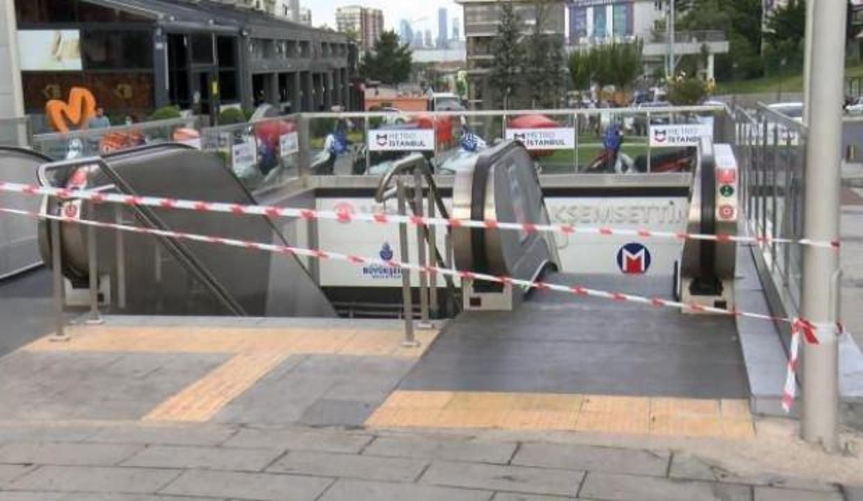 İstanbul'da metroda korkutan patlama!