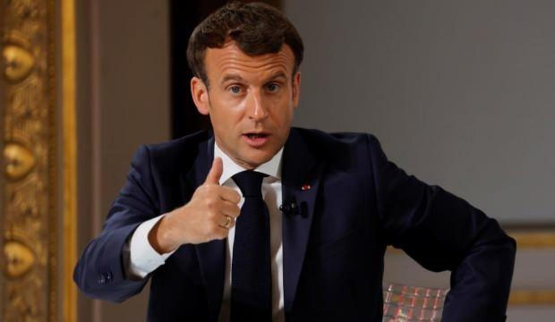 Macron'dan flaş Afganistan açıklaması!