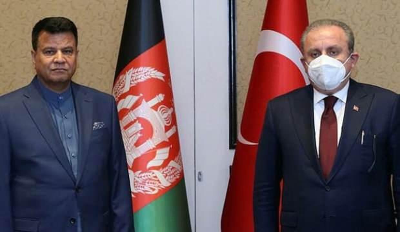 TBMM Başkanı Şentop, Afganistan Halk Meclisi Başkanı Rahmani ile telefonda görüştü