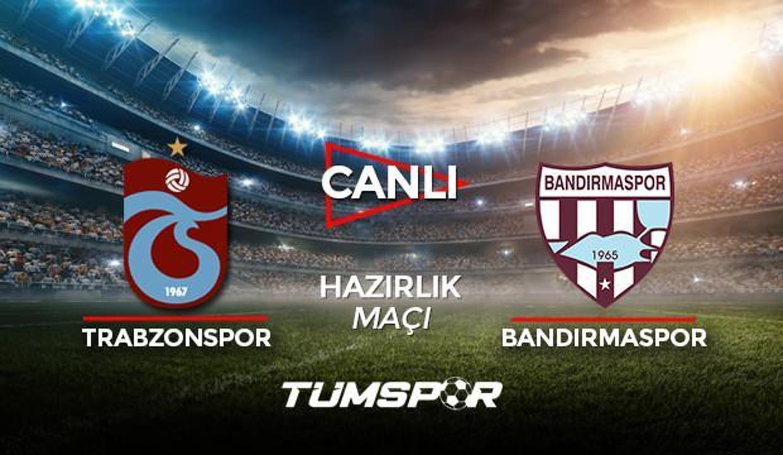 Trabzonspor Bandırmaspor maçı canlı izle! Youtube TS Bandırma maçı canlı skor takip