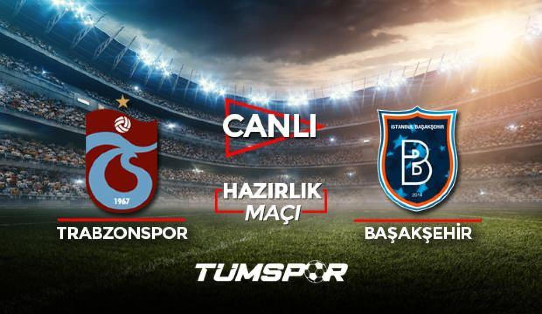 Trabzonspor Başakşehir maçı canlı izle! A Spor TS Başakşehir maçı canlı skor takip!